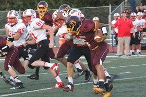 Schadler leads Hesston past Hillsboro, 56-28