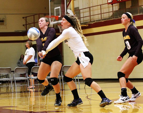HHS volleyball improves to 16-0