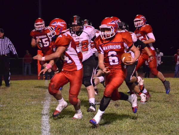 Marion clinches district title with 27-0 win over Moundridge