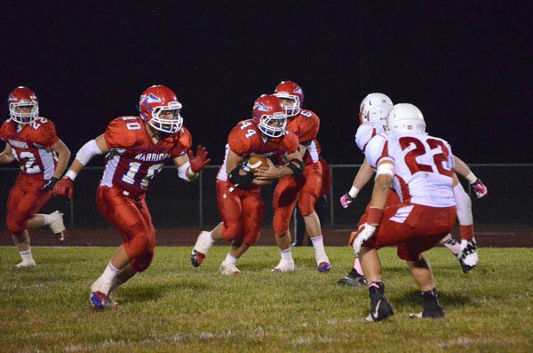 Warriors claim first win over Trinity