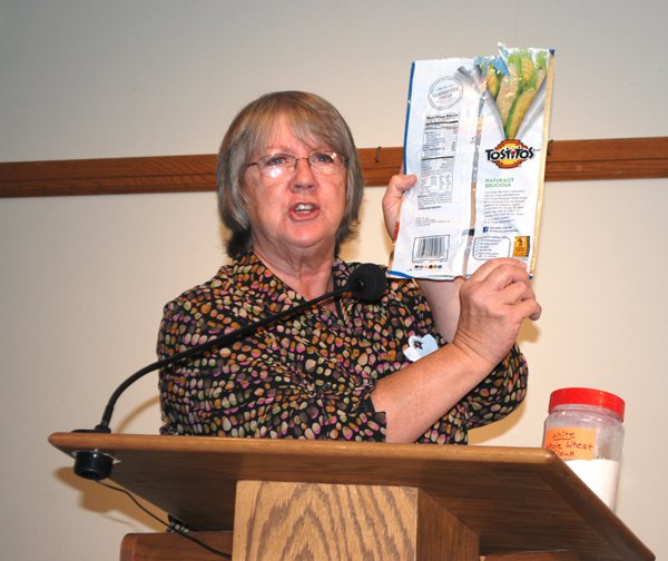 Seniors hear 'whole' truth about wheat