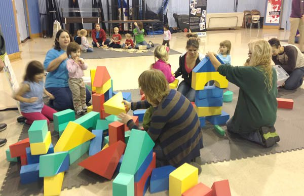 Families turn out for Block Fest