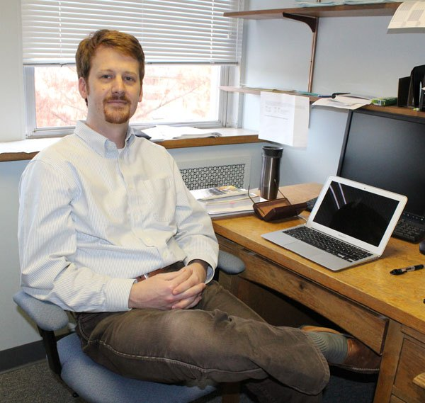 New Tabor College history prof finds his way back home again