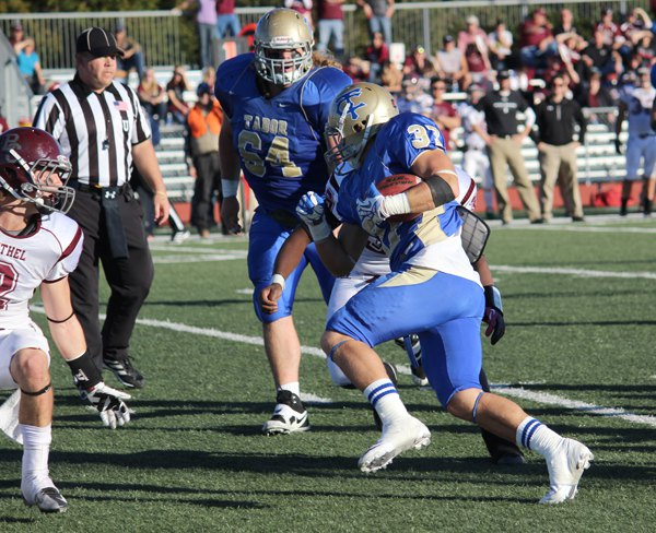 Tabor routs Bethel, 76-19, to improve to 8-2