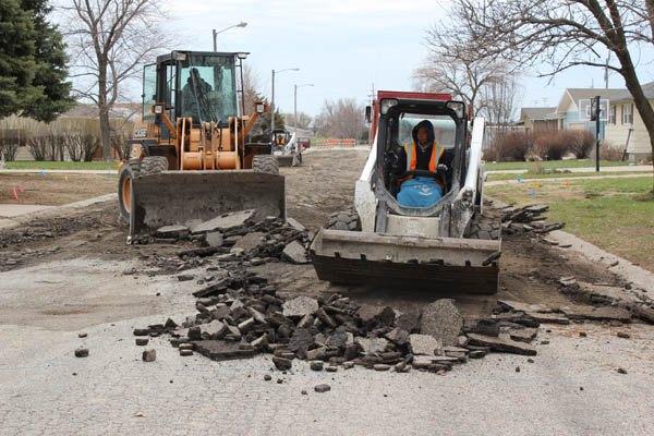 Street project tops city improvements
