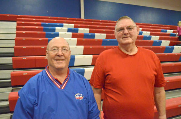Two for track / Veteran MHS coaches feted by state