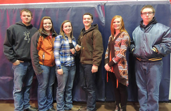 HHS FFA competes in district poulty, food science