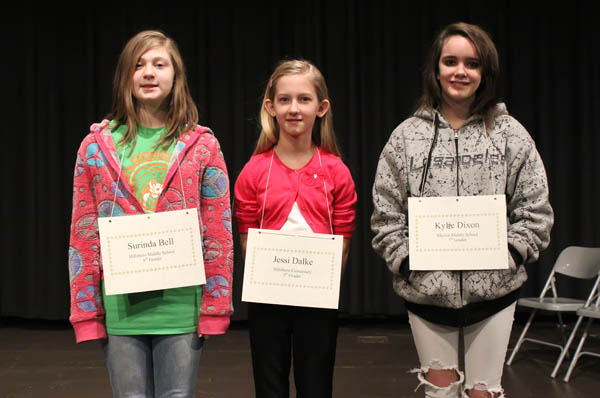 HES 5th-grader wins county bee