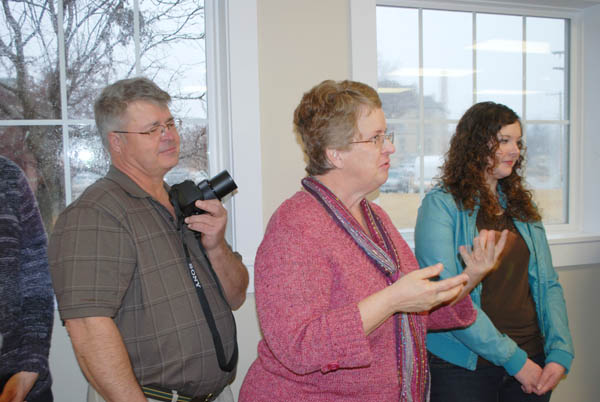 Marion library staff host open house for new addition