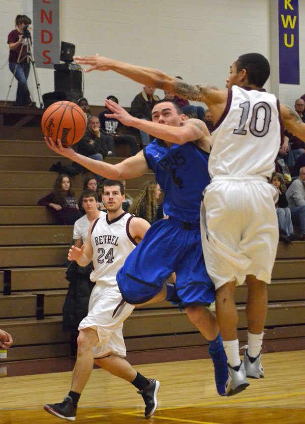 Tabor rolls to two victories at Bethel