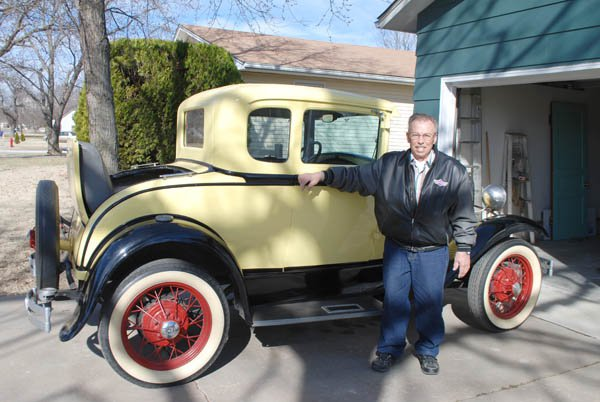 Restoring antique cars drives Hillsboro hobbyist