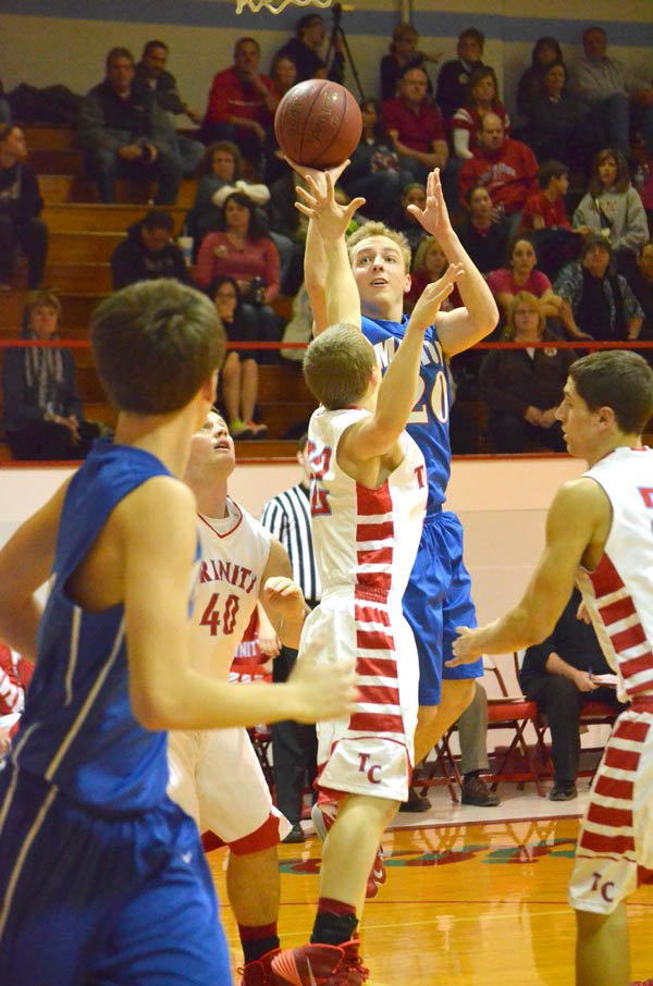 Marion boys win sub-state opener