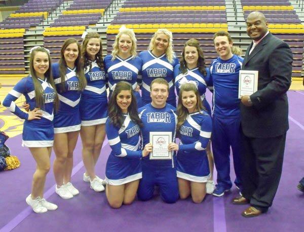 Morris receives KCAC cheer coach award