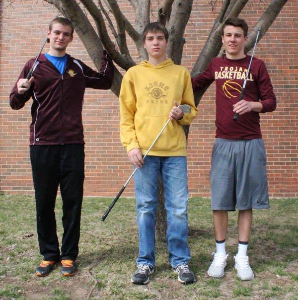 Trojan trio to carry golf hopes