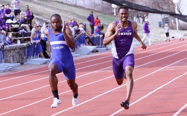 Tabor track finds success at Emporia