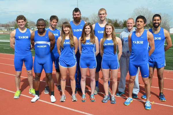 Tabor teems with track talent