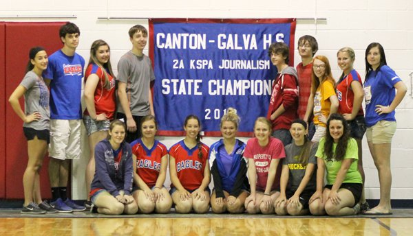CGHS journalism team tops in Class 2A