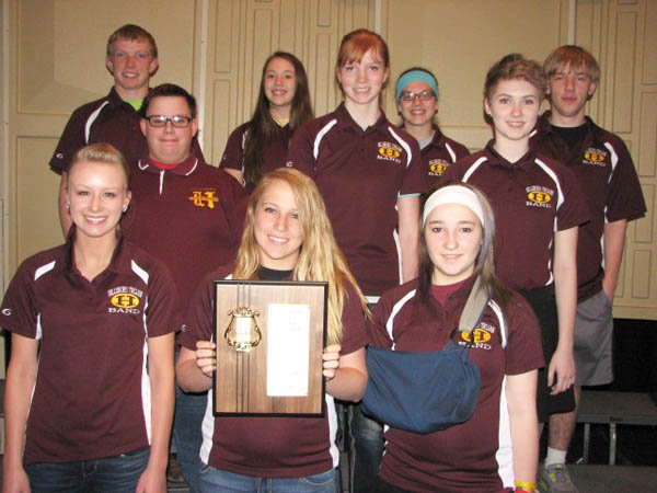 HHS music students earn top rating at state