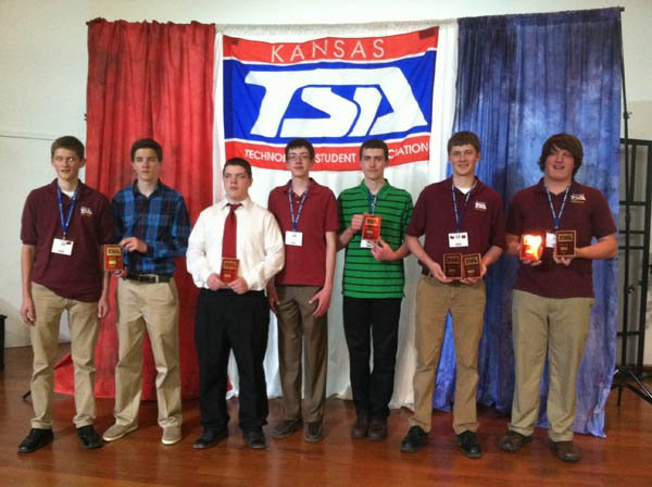 Hillsboro High School TSA students compete at state contest