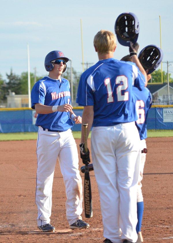 Warrior baseball sweeps Halstead