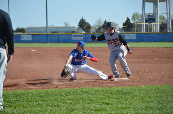 Warrior baseball rolls past Inman