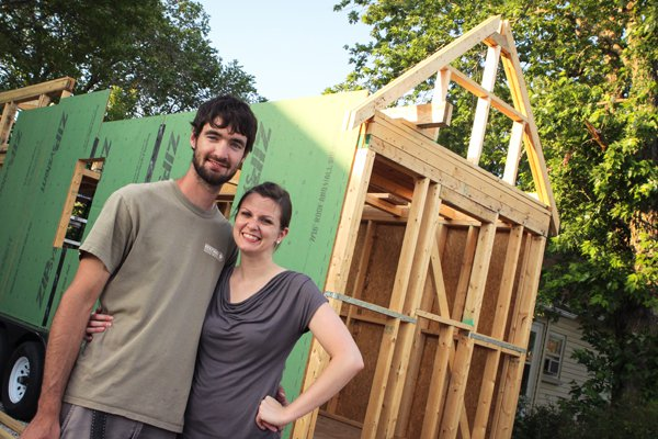 Couple finding that a 'tiny house' is a good fit