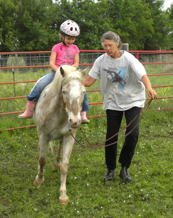 Teaching, riding lessons lead to horsemanship camps