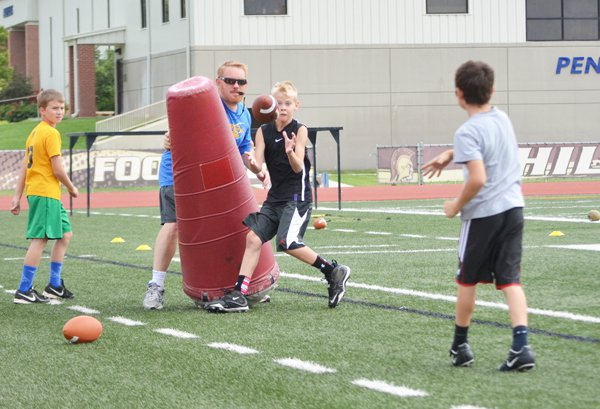 Tabor College hosts two-day football camp