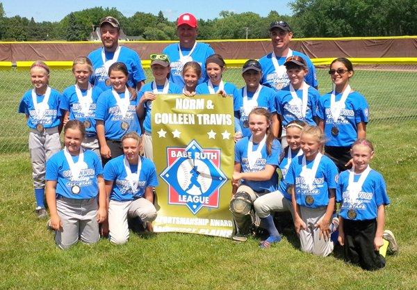 CVL 10U team takes third at softball regionals