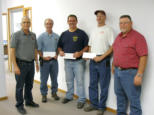 Area fire departments, Marion County 4-H benefit from $5,444 gift