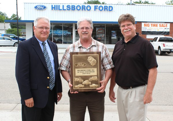 Hagens feted for 50 years as Ford dealership owners