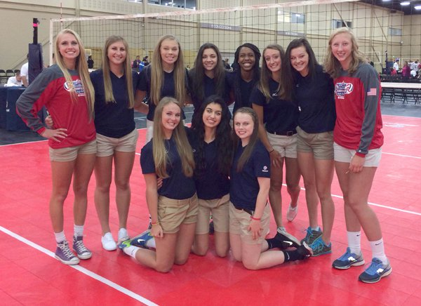 Ratzlaff competes with USA Volleyball