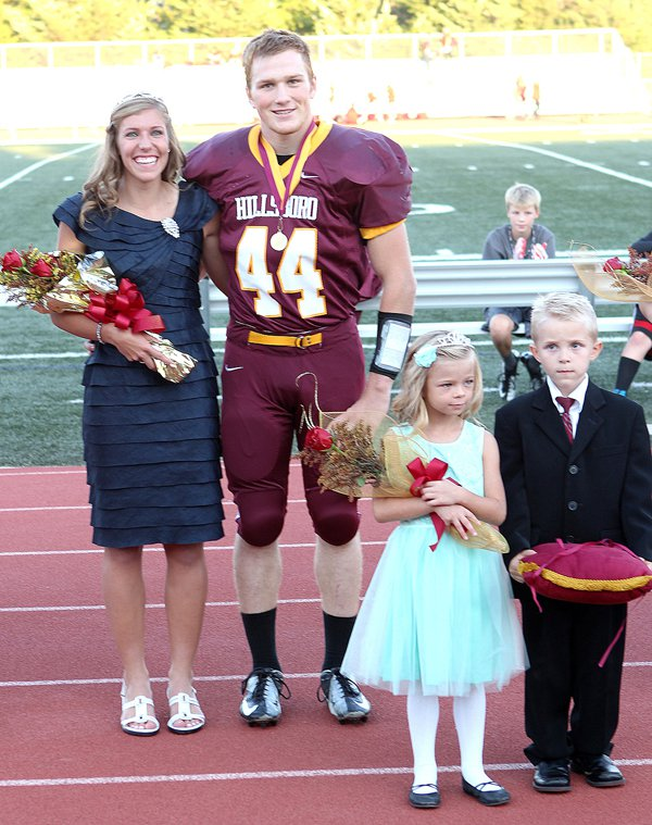 Sechrist, Meier selected as HHS homecoming royalty