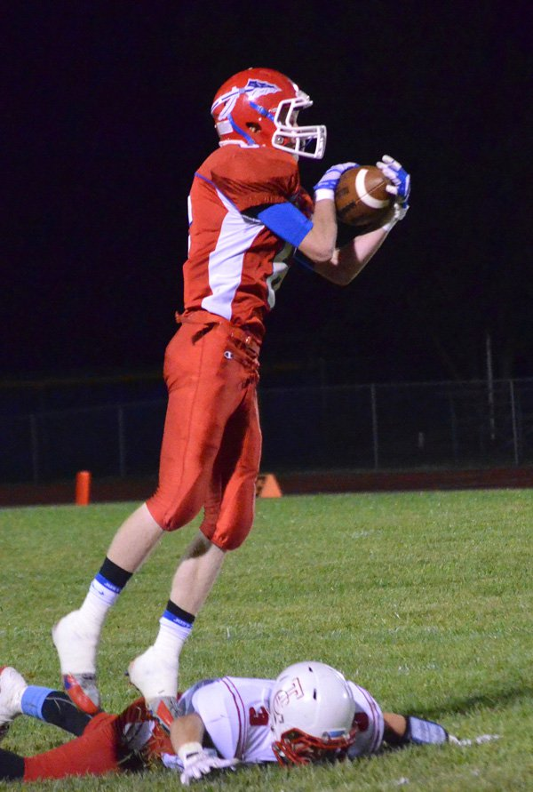 Marion drops 30-6 contest to Hutch Trinity