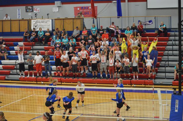 Marion wins three at home quad