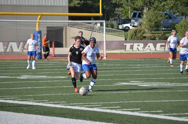TC women beat NCAA Div. II team in soccer battle