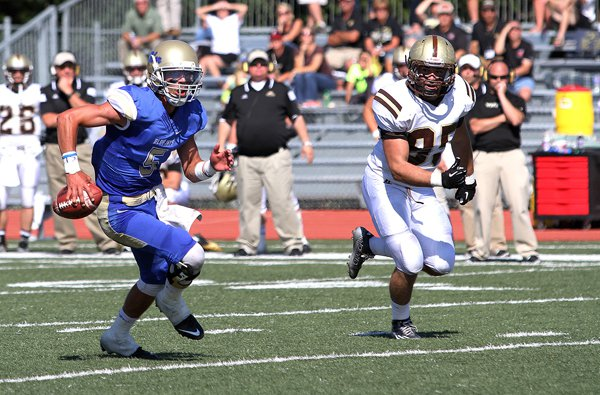 Bluejays win opener, 36-0