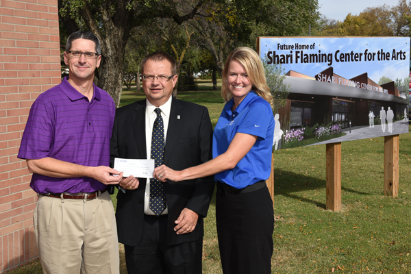 Central National donates $20,000 toward arts center