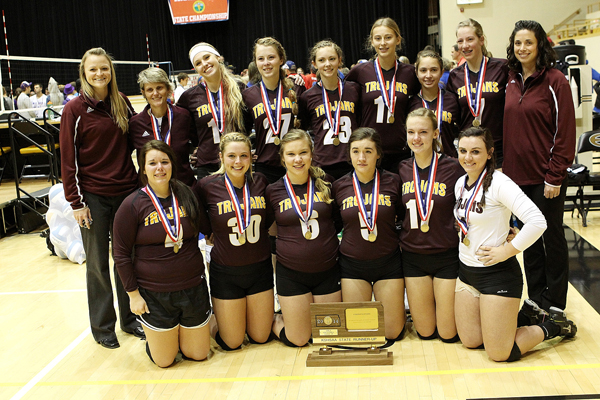 Oh, so close / Hillsboro, Goessel challenge for state volleyball titles