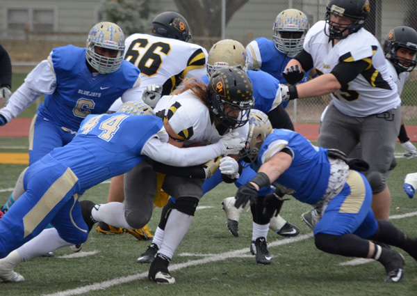 Tabor succumbs to Ottawa, 17-15
