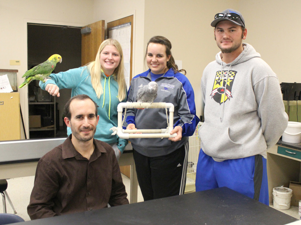 Parrot project published in scientific journal