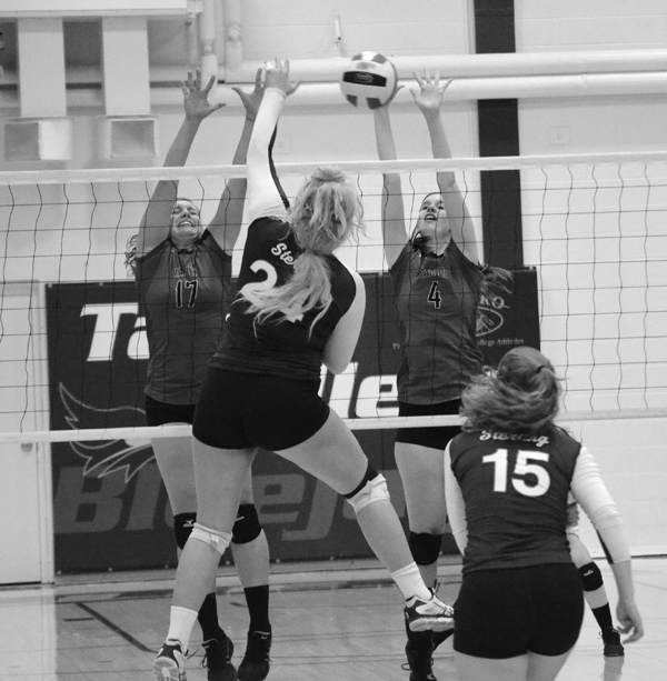 TC volleyball wins regular-season finale