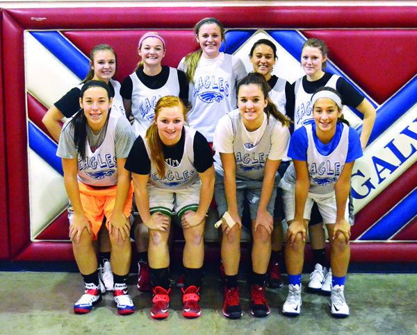 Eagle girls aim for more victories with three starters coming back