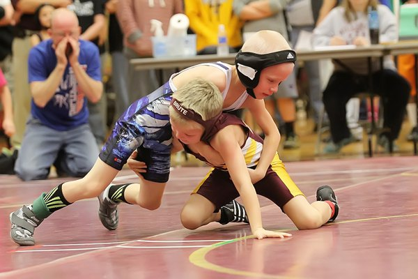Kids wrestling tournament draws 230 participants and families to Hillsboro