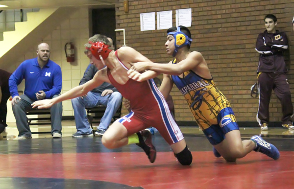 Warrior wrestlers finish first at Hesston Invitational