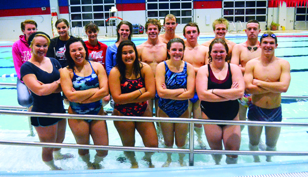 17 swimmers jump in for Tabor's inaugural team