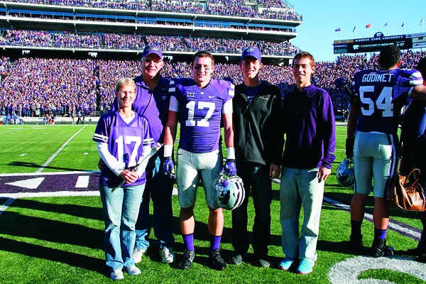 Goessel alum recognized on Senior Day at K-State