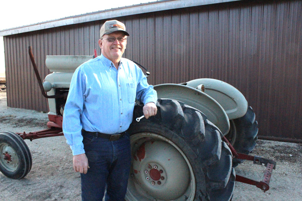 Bowers has seen farming change over 38 years