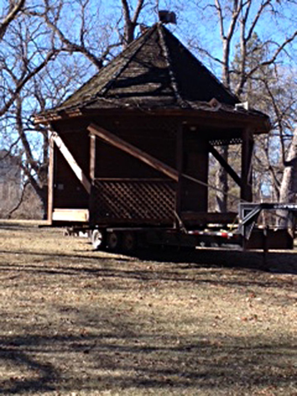 Marion gazebo bound for fishing future