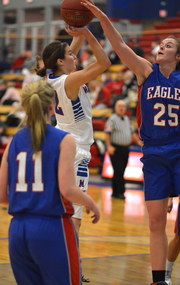 Marion sweeps Canton-Galva to start New Year
